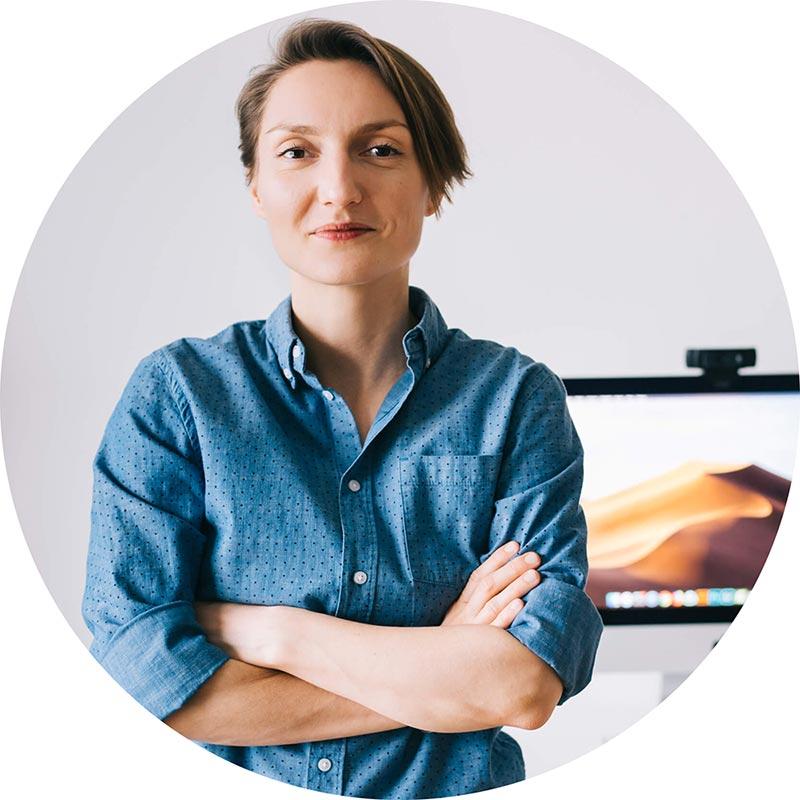 Ewelina Muc - autorka kursów on-line o tym, jak założyć własną stronę www