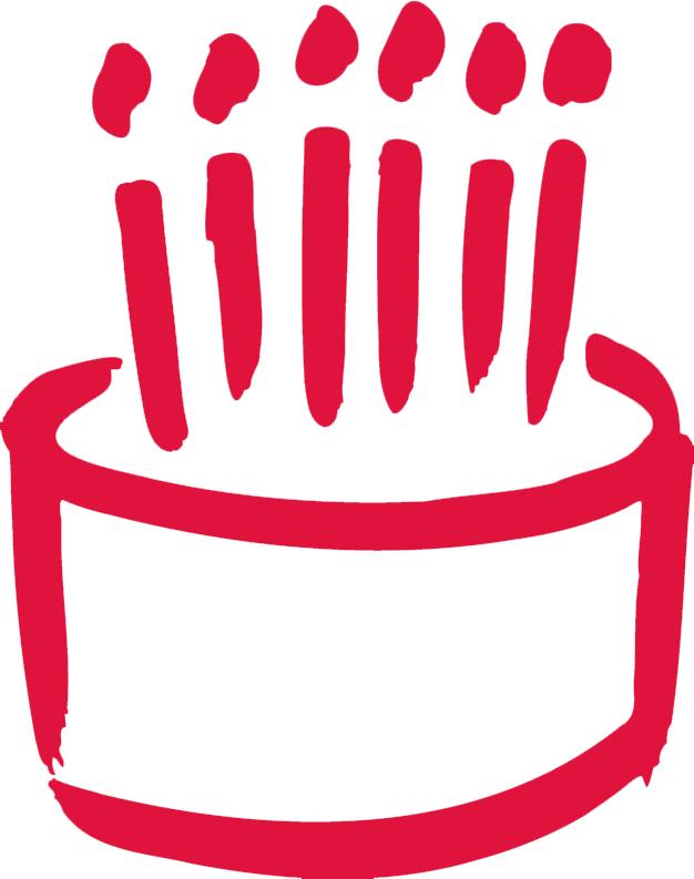 Tort na 6. urodziny firmy Eweliny Muc